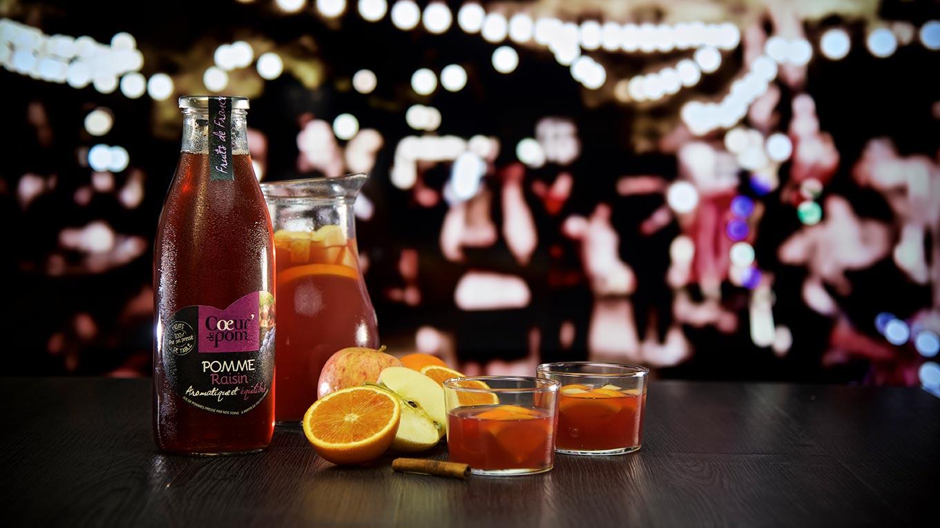 Cocktail bouteille sangria
