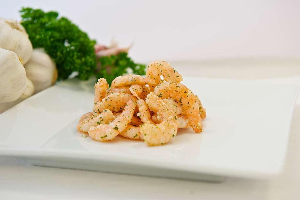 Crevettes façon persillade