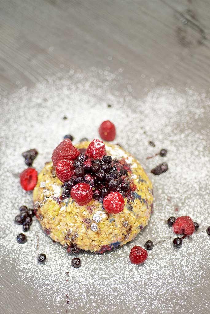 Bowlcake framboises myrtilles